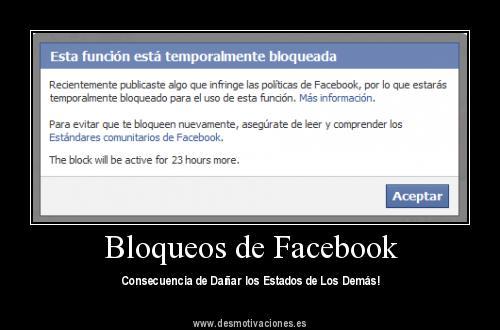 Bloqueo facebook