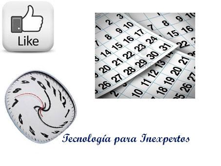 Escribir en Facebook en diferido