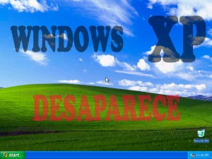 Windows XP desaparece