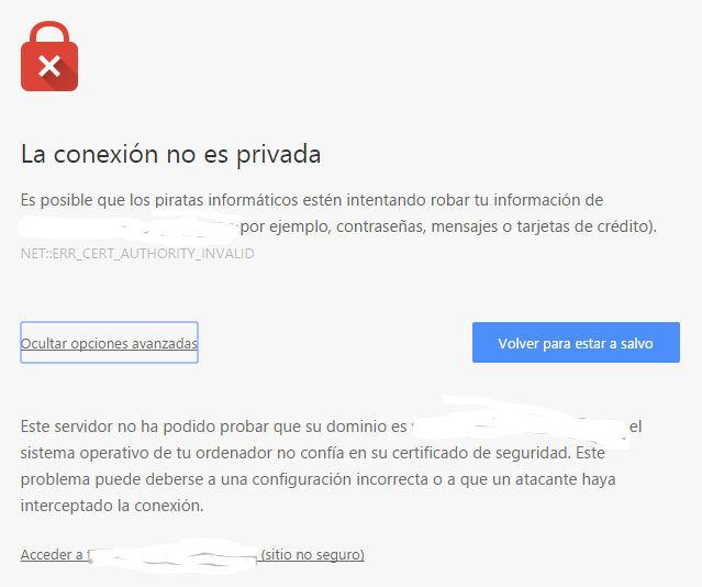 Captura SSL no firmado